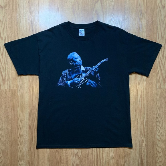 Hanes Other - VINTAGE BB KING KING OF THE BLUES 2006 TOUR SHIRT